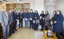 اهدا جوایز سفیران فرهنگی بانک صادرات