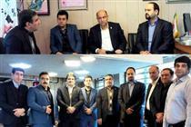 بازدید مدیر امور شعب بانک ایران زمین از شعب همدان