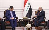 دیدار رئیس کل بانک مرکزی با نخست وزیر عراق