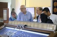 بازدید سفیر نیوزیلند از موزه بانک سپه