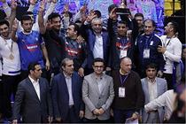 تیم کشتی بیمه رازی به عنوان قهرمانی جهان دست یافت