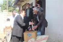 بازدید بانک رفاه از مناطق سیل زده مازندران