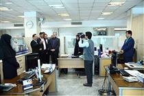 بازدید مدیر عامل بانک رفاه از روابط عمومی این بانک