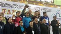 تبریک بانکپاسارگاد بهمناسبت قهرمانی تیم ملی کشتی آزاد در مسابقات بینالمللی جام تختی