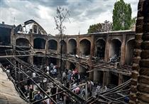 کار کارشناسی برآورد خسارت آتش سوزی بازار تبریز به پایان رسید