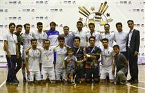 تیم فوتسال بانک سامان قهرمان جام تدبیر شد