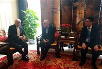 وزیر امور اقتصادی و دارایی ایران وارد پکن شد