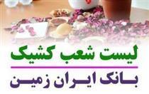 شعب کشیک بانک ایران زمین در پایان سال