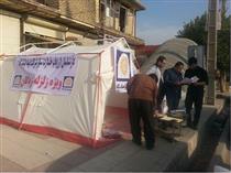 پرداخت خسارت سیار بیمه پاسارگاد در مناطق زلزله زده کرمانشاه