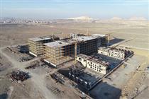 طرح بیمارستان خاتم قم، به عنوان طرح برتر فولادی کشور انتخاب شد