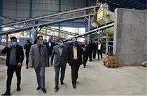 بازدید مدیرعامل بانک ملت از گروه تولیدی ناصری