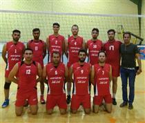 تیم والیبال ایران کیش در جام رمضان سوم شد