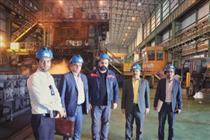 حمایت بانک ایران زمین از بهره برداری خط تولید جدید فولاد اکسین